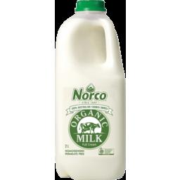Photo of Norco Organic Full Cream Milk 2lt