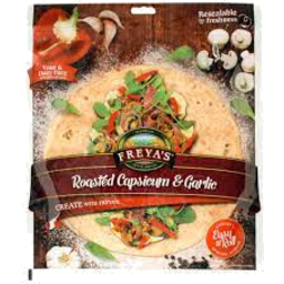 Photo of Freya's Wraps Roasted Capsicum & Garlic 420g