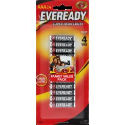 Photo of Eveready Aaa24 Super Heavy Duty Family Value Pack