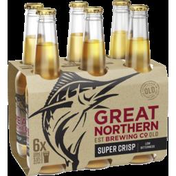 Photo of Great Northern Super Crisp Bottle 330ml 6 Pack