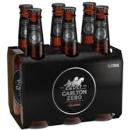 Photo of Carlton Zero Bottles