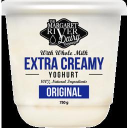 Photo of The Margaret River Dairy Yoghurt 750g