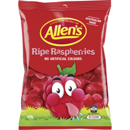 Photo of Allens Ripe Raspberries 190g