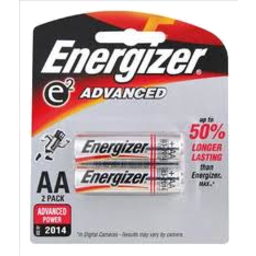 Photo of Energizer Advanced AA 2pk