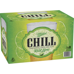 Photo of Miller Chill Bottle 330ml 24 Pack