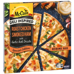 Photo of Mccain Deli Inspired Roast Chicken Pizza 320gm