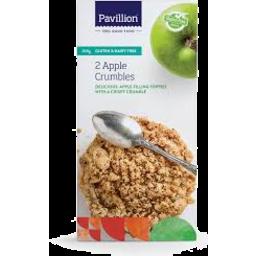 Photo of Pavillion Foods Gluten Free Crumble  Apple 2 Pack