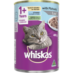 Photo of Whiskas Pilchards & Whiting 400g