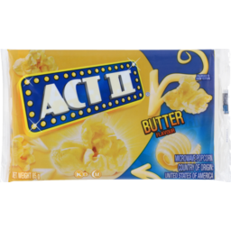 Photo of Act II Microwave Popcorn Butter 85g