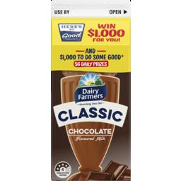 Photo of Dairy Farmers Classic Chocolate Flavoured Milk 600ml