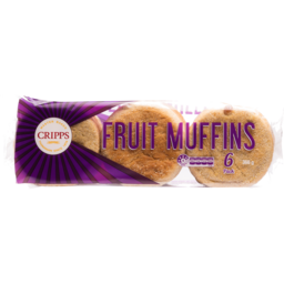 Photo of Cripps Muffins Fruit 6 Pack