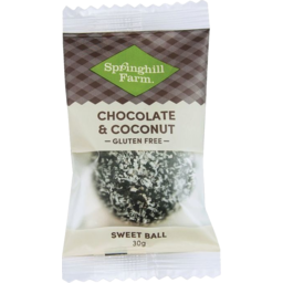 Photo of Springhill Choc Coconut Ball 30gm