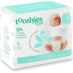 Photo of tooshies by TOM  Newborn Nappies < 5kg