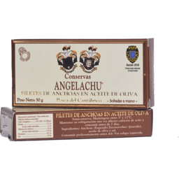 Photo of Conservas Angelachu Anchovy Fillets 50g