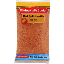Photo of Maharajah's Choice Red Split Lentils 1kg