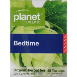 Photo of Planet Organic Bedtime 25 Herbal Tea Bags 22g