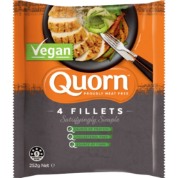 Photo of Quorn Meat Free Vegan 4 Fillets 252g