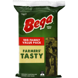 Photo of Bega Tasty Cheese Block 1kg