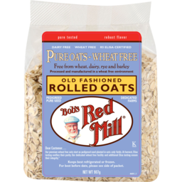 Photo of Bob's Red Mill - Rolled Oats - Wheat Free - 907g