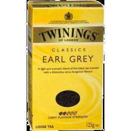 Photo of Twinings Earl Grey 125g