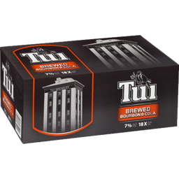 Photo of Tui Brewed Bourbon & Cola 7%