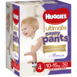 Photo of Huggies Nappy Pant Ult Sz4 50s