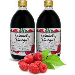 Photo of Raspberry Vinegar - Organic With Mother - 500ml