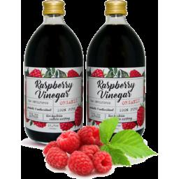 Photo of Raspberry Vinegar - Organic With Mother - 500ml