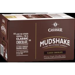 Photo of Vodka Cruiser Mudshake Chocolate Stubbies