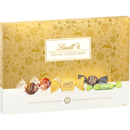 Photo of Lindt Festive Selection Gift Box 383g