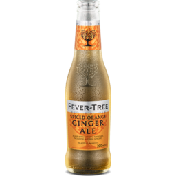 Photo of Fever Tree Spiced Orange Ginger Ale Bottles