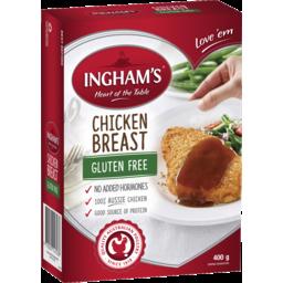 Photo of Ingham G/Free Breast Schnitzel 400gm