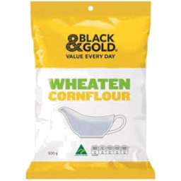 Photo of Black & Gold Cornflour 500g