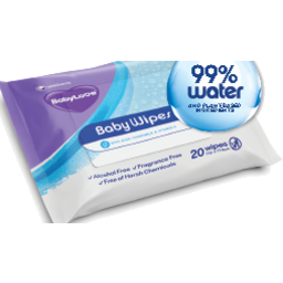 Photo of Babylove Baby Water Wipes 20s