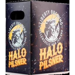 Photo of Liberty Halo Pilsner 330ml Bottles 6 Pack