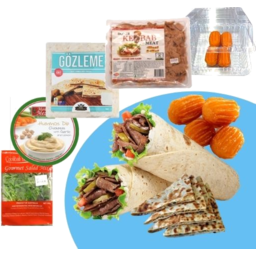 Photo of Lamb Kebab Meal Pack With Meat & Cheese Gozleme