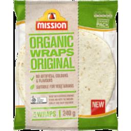 Photo of Mission Organic Wrap Original 5pk 240g