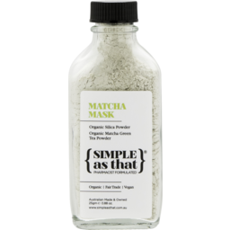 Photo of Simple As That Matcha Mask 25g