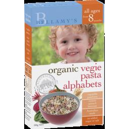 Photo of Bellamy's Organic Vegie Pasta Alphabets 200g