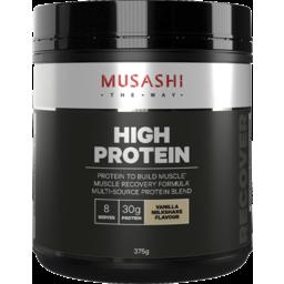 Photo of Musashi High Protein Vanilla Milkshake Flavour 375g