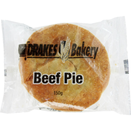 Photo of Drakes Bakery Beef Pie 150g