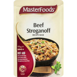 Photo of Masterfoods Beef Stroganoff Recipe Base Sauce Pouch 175g