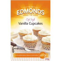 Photo of Edmonds Cupcake Mix Vanilla 410g