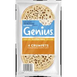 Photo of Genius Crumpets 4pk 220gm