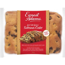 Photo of Ernest Adams Cake Sultana 450g