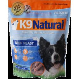 Photo of K9 Natural Pet Food Frozen Beef Gourmet Free Flow 1kg