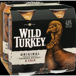 Photo of Wild Turkey Original & Cola Cans