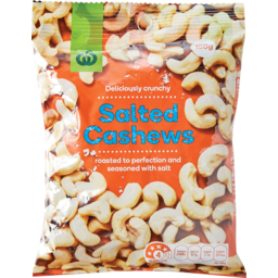 Photo of WW Cashews Salted 150g