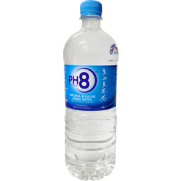 Photo of Ph8 Natural Alkaline Spring Water 1l