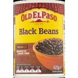 Photo of Old El Paso Beans Black 425g